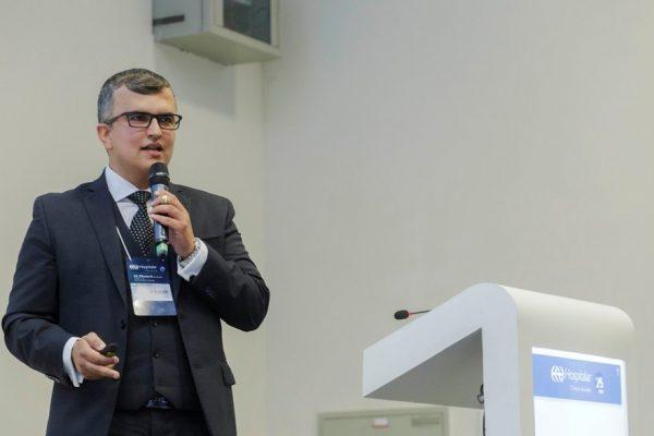 DR. RENATO ASSIS MINISTRA PALESTRA SOBRE JUDICIALIZAÇÃO DA SAÚDE NA 25ª EDIÇÃO DA HOSPITALAR