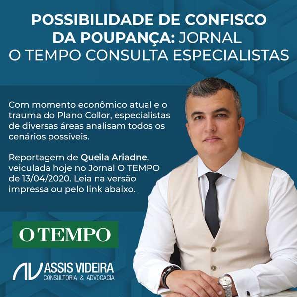 DR. RENATO ASSIS PARTICIPA DE MATÉRIA PARA O JORNAL O TEMPO
