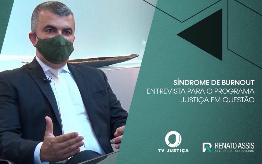 Reportagem da TV Justiça aborda a alta da Síndrome do Burnout nos médicos e profissionais da Saúde